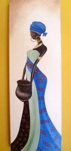 cuadros tripticos polípticos africanas, modernos