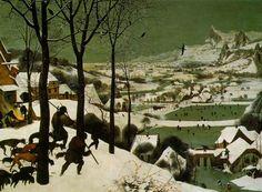 The Hunters in the Snow, Pieter Bruegel the Elder