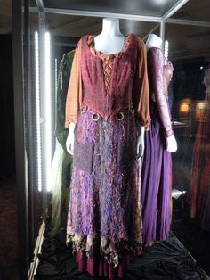 Actual costume worn by Kathy Najimy  as Mary Sanderson in Hocus Pocus
