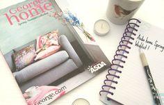 Lifestyle -Spring Asda home wishlist