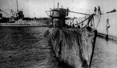 U-977 Left to rust in dock after surrendering (Germa Bunderarchives - Public domain)U-530 was one of the last U-boats to surrender but it wasn't the very last. That honor goes to U-977. This was TypeV11C U-boat. It had a displacement of 769 tons and was could operate at up to 230 below the sea. With 5 torpedo tubes and 14 torpedoes the U-977 was less powerful than the U-530. It also carried a naval gun and 220 rounds of fire.