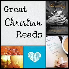 Great Christian Reads- A list of nine books that are not to be missed.