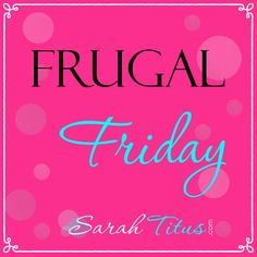 Frugal Friday | SarahTitus.com featured $5 mirror makeover
