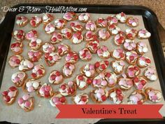 Sweet and Salty Valentine Treat