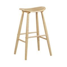 Curve Barstool in Natural