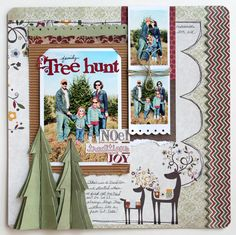 Amy Peterman using Home For Christmas for Fancy Pants Designs