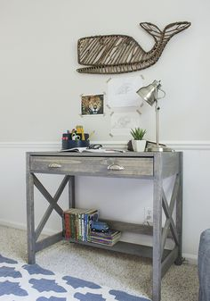How to Make an X-Frame Desk (With Free Plans)
