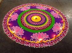 My Entertainment Rocks: Beautiful Rangoli Design For Diwali