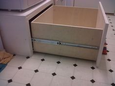Washer & Dryer Pedestal / Platform with Drawers