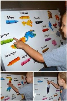 Educational Insights Readiness Spinzone. A magnet whiteboard game great for preschools or homeschooling! This set does colors: sorting, naming, identification, and even animals and clothes identification based on the colors.
