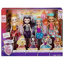 Ever After High Friends Ever After Dolls  4 Pack