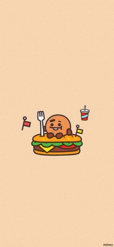 shooky de goloso Grey Wallpaper, Kawaii Wallpaper, Bts Wallpaper, Min Yoongi Wallpaper, Bts Backgrounds, Bts Drawings, Bts Chibi, Cute Cartoon Wallpapers, Bts Fans