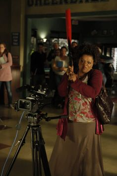 "Yvette Nicole Brown as Shirley on Community from the episode ""Messianic Myths an..."