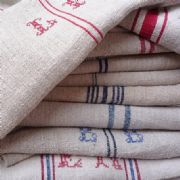 vintage linen grain sacks..... wonderful