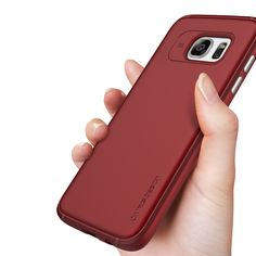 Urcover VRS Design Single Fit Blossom Red Silicone Case for Samsung Galaxy S7 and S7 Edge 18,90€