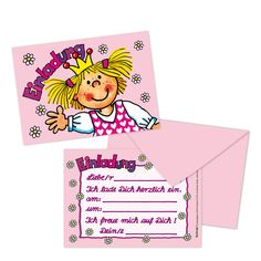 Einladungen Zum Kindergeburtstag Zum Ausdrucken