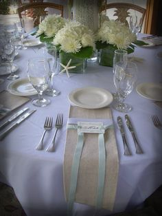 Tablescape of the Week: ShellS - Project Wedding