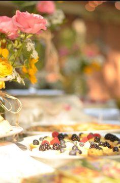 Simple tarts are lovely tea party treats