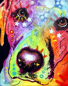 LABRADOR CLOSE UP by deanrussoart on DeviantArt