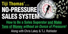 We demonstrate why NO-PRESSURE is the only way to sell today The Only Way, Online Business, How To Make, Things To Sell