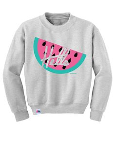 Hello Watermelon Sweatshirt by MERRIMAKING on Etsy // 80's chic // $54