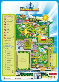 Miniatiūrų ir atrakcijonų parkas apie 34 eurs, netoli Wadowice. Darbo laikas: I-V: 9:00-19:00 VI-VII: 9:00-20:00