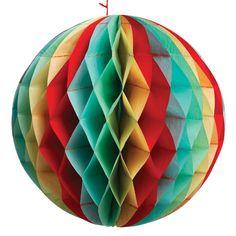 Large Vintage Party Honeycomb Ball | DotComGiftShop
