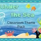 Ready for a new look in your classroom? This big bundle includes everything you need to set your room up in a colorful under the sea theme! Downloa...
