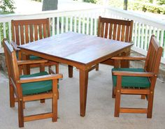 """36"""""""" Cedar Get-Together Dining Set"""