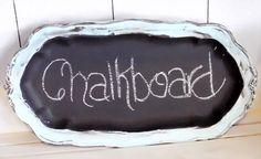 Chalkboard Memo tray