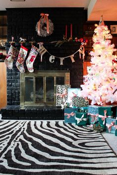 A Colorful Christmas Home Tour - simple holiday decorating ideas full of color!