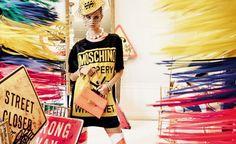 Ad Campaign: Moschino Spring/Summer 2016 Model: Fei Fei Sun, Joan Smalls, Lexi Boling, Maartje Verhoef Photographer: Steven Meisel