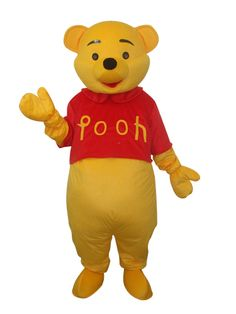 Winnie the Pooh Mascot Adult Costume - Cheap Mascots Costumes