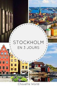 Visiter Stockholm en 3 jours