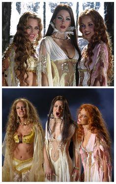 Marishka, Verona and Aleera from Van Helsing.