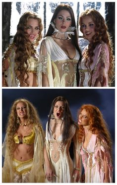 Marishka, Verona and Aleera from Van Helsing.