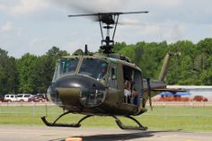 Tuscaloosa Air Show Army Aviation Heritage Foundation Bell UH-1H Huey N426HF.