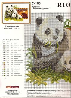Pandas with back round 2 of 3