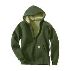 Carhartt CarLux Hoodie 100465 - GenXtreme #armygreen #Hoodie #Carhartt #GenXtreme