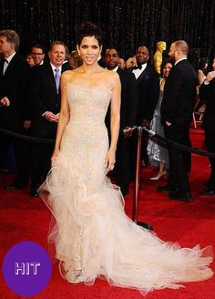 Halle Barry in Marchesa