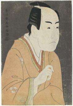 Ichikawa Monnosuke II as Date no Yosaku, To_shu_sai Sharaku      ;    Tsutaya Ju_zaburo_