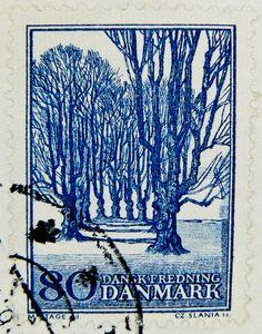 stamp Danmark Dänemark 80öre postage bollo francobolli timbre | Flickr - Photo Sharing!