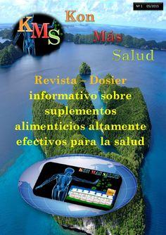 K.M.S.  Kon Más Salud  Revista dedicada a la Salud y los Suplementos Alimenticios