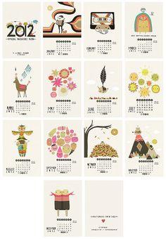 laura george calendar by city of craft, via Flickr