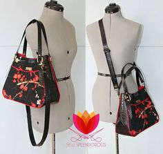Swoon Ethel with Charlottes handle and crossbody
