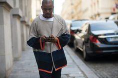 http://chicerman.com  billy-george:  Cool dude!  #streetstyleformen