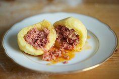 Fleischknödel-Kartoffelteig-Rezept
