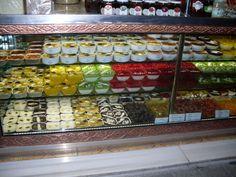 Variety turkish deserts