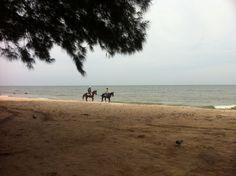 ชายหาดชะอำ (Cha-am Beach) in ชะอำ, จังหวัดเพชรบุรี