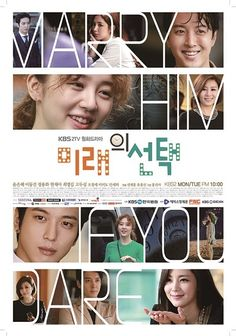 Marry Him If You Dare Yoon Eun Hye, Recommended Korean Drama, Kdramas To Watch, Korean Drama Movies, Korean Dramas, Drama Tv Series, Drama Fever, Best Dramas, Jung Yong Hwa